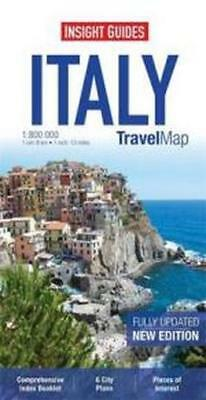 NEW Insight Travel Map : Italy By Insight Guides Paperback Free Shipping