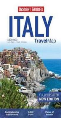 NEW Italy : Insight Travel Map By Insight Guides Map Free Shipping