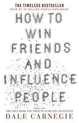 NEW How to Win Friends and Influence People By Dale Carnegie Paperback