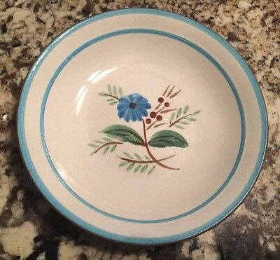 Stangl Blue Daisy Bowl 7 3/4 Inches