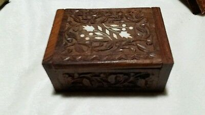 Antique Beautiful Wooden Box In Perfect Condition
