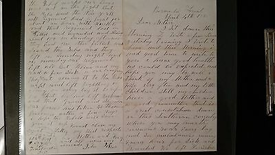 Excellent Letter/Content- Bermuda Hundred - Last week of War, 104th Pennsylvania