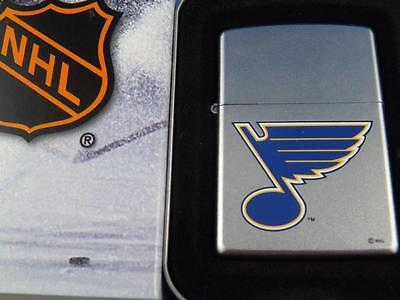 Zippo Lighter St Louis Blues Nhl Hockey Sealed 05 Retired Fan Souvenir Collector