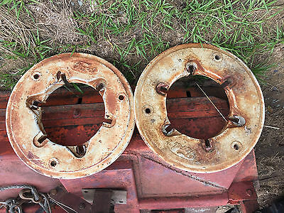 Ford 5000 Tractor Rear Wheel Weights