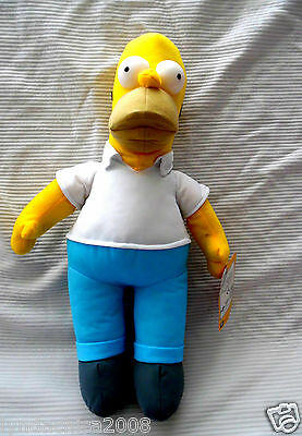 The Simpsons HOMER SIMPSON Plush Toy (17 INCHES)