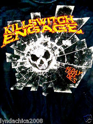 KILLSWITCH ENGAGE 2008 Concert Shirt (Size SMALL)