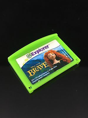 Leapfrog Leapster Explorer Disney BRAVE Game Leap Pad 2 3 GS XDi Ultra Tested!