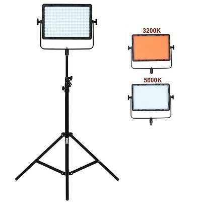 Falcon Eyes DV-600 36W 3200/5600K Bi-Color 600pcs LED Video Photo Light Dimmable