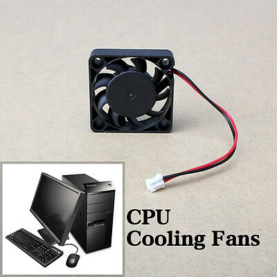 12V DC 2 Pin 40mm Computer Cooler Cooling Fans for PC Laptop Computer Black