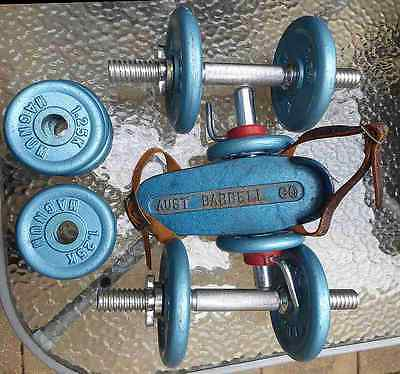 Dumbbell Pair, Weights As Listed, Foot Iron