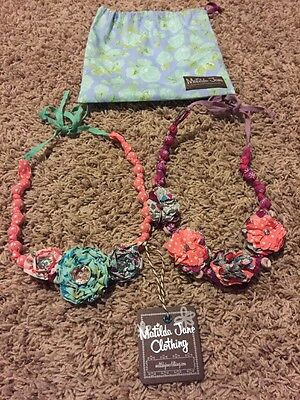 MATILDA JANE 2 Necklaces Friends Forever Olympia Set With Bag NEW