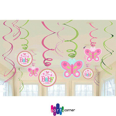 Boy baby shower decorations party supplies its a boy swirl for Baby shower decoration packs