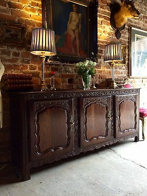 Magnificent Louis XV Sideboard Dresser Credenza Antique French 18th Century 1750