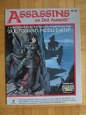 Assassins of Dol Amroth - #8106 – English Merp Middle Earth lotr Rolemaster rpg