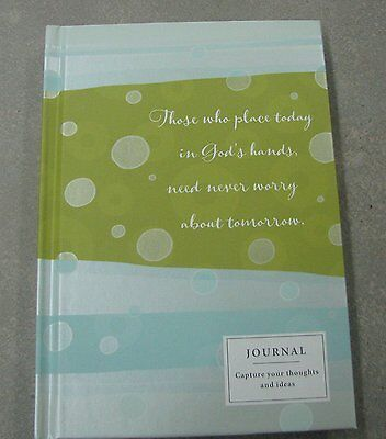 Hallmark TOG4619 Those Who Place Today in Gods Hands, Need Never Worry About