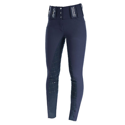 Horze Crescendo Desiree Women's Full Seat Breech | Navy | EU34