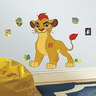 RoomMates RMK3176GM Lion Guard Kion Peel and Stick Giant Wall Decals