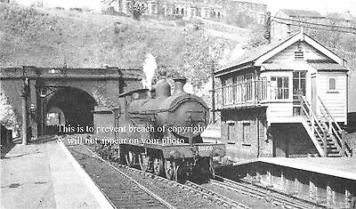 Photo Of Dover Priory Railway Station Looking Through The Tunnels Kent