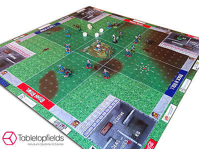 Fantasy Football Feld / Field / Pitch | 4 Player | for example Deathbowl