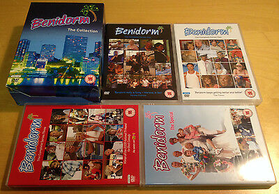 Benidorm The Collection Series 1-3 + Special Dvd Box Set Region 2 Pal