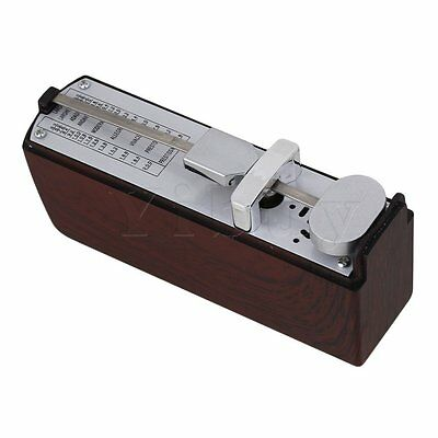 Plastic Cover Mini Mechanical Metronome for Piano Guitar Instrument