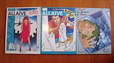 Lot Bd Allaive Tomes 1 A 3 Tous En Eo / Taffin / Dargaud