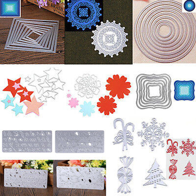 Metal Cutting Dies DIY Scrapbooking Embossing Stencil Album Paper Card Craft