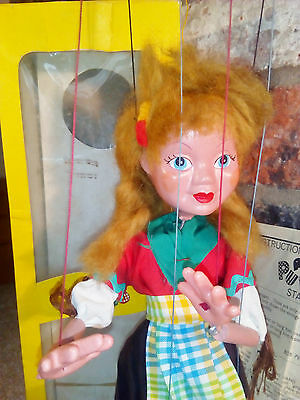 Pelham puppet Gretel brand new condition and in original box