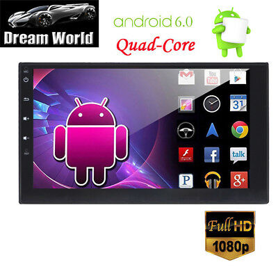 "Quad Core Android 5.1 3G WIFI 7"" Double 2DIN Car AutoRadio Stereo GPS Navigation"