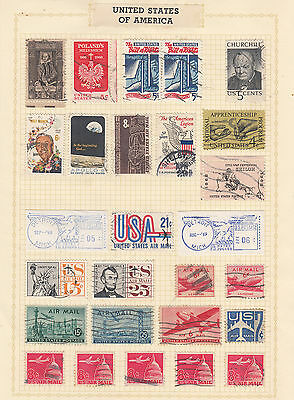 UNITED STATES On Old  Album page USED..