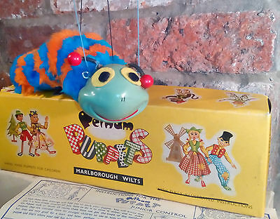 Pelham puppet Caterpillar great condition and in original box