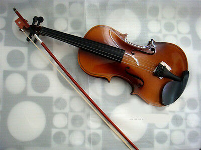 * New Brown High Quality Musical Instruments Plywood Violin 1/4 3/4 4/4 1/2 1/8