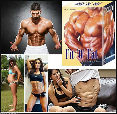 Fit o Fat Natural Weight Gainer Fast Pills Muscle Gainer Supplement Men / Womens