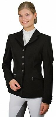 Pikeur Skarlett black ladies competition show jacket size 38 or UK 10