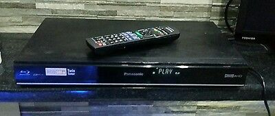 Panasonic DMR-PWT420EB 500GB HDD Recorder Twin Freeview+ HD Tuners 3D BLU RAY