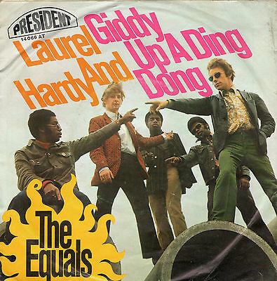 """The Equals - Laurel And Hardy - Vinyl-Single 7"""""""