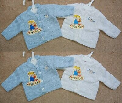 Tiny Premature Baby Boys Girls Knitted Wool Cardigans Jumpers Newborn Gift New