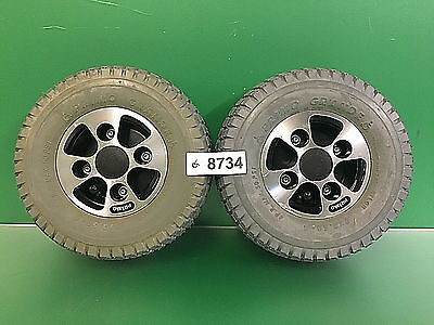 Drive Wheels for Hoveround MPV5  Power Wheelchair - Pneumatic ~set of 2~ #8734