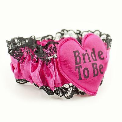 Bride To Be - Garter Hen Party - Night White Lace - Wedding Bridal Do