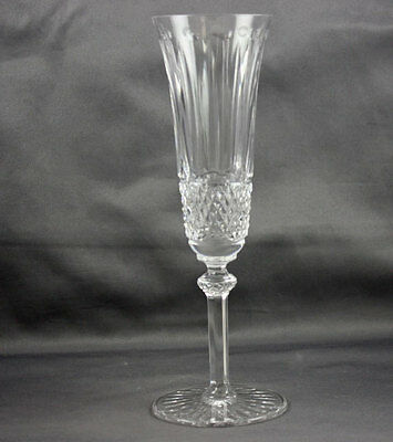 """St Louis Crystal Tommy 8 1/8"""" Champagne Flute Sold Individually"""