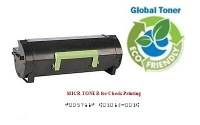 LEXMARK 501H 50F1H00 MICR Toner to MS310 MS410 MS510 MS610 High Yield 5K