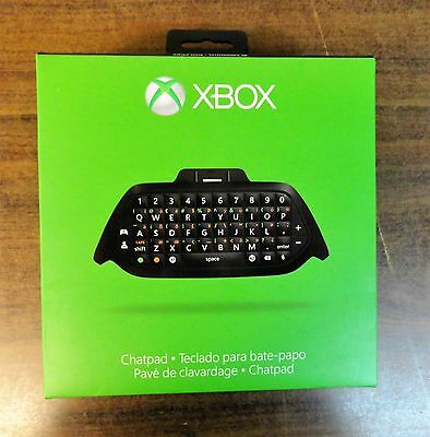 Original Xbox One Chatpad Keyboard + Chat Headset (plugs directly into Chatpad)