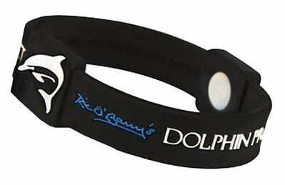 EFX Silicone Sport Wristband Dolphin Project, 8-Inch