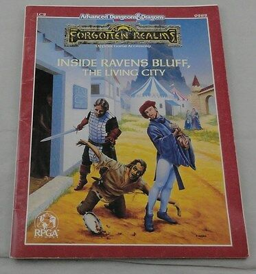 Advanced Dungeons & Dragons Forgotten Realms Inside Ravens Bluff The Living City