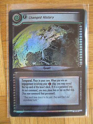 CHANGED HISTORY 6P17 - Reflections PROMO FOIL Card - Star Trek 2nd Edition CCG