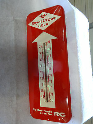 Nice Old Royal Crown Soda Thermometer 1958