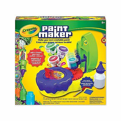 Crayola Paint Maker - Make Your Own Washable Paint! Mix & Shake Your Own Colours