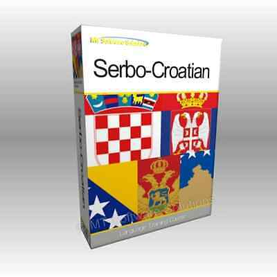 Learn to Speak SERBO-CROATIAN SERBIAN - Complete Language Training Course Disc