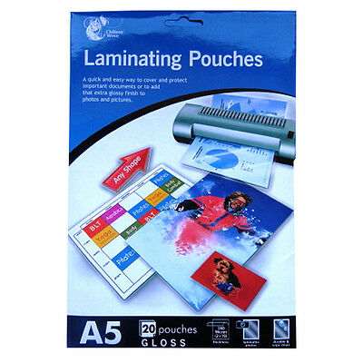 Laminating Pouches - A3, A4, A5 and Credit Card Size - 140 Micron to 250 Micron