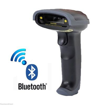 New Wireless Bluetooth Barcode Laser Scanner for Apple iOS Android Windows